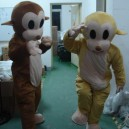 Supply Cartoon Costumes. Doll Clothing. Dolls Clothing Jumping Monkey Cartoon Costumes Mascot Costume
