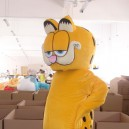 Supply Cartoon Doll Clothing Cartoon Cat Garfield Cartoon Mascot Celebration Store Promotional Price of Two Weeks Mascot Costume