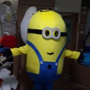 Supply Despicable Me 2 Small Yellow Cartoon Man Walking Clothing Cartoon Costumes Despicable Me 2 Despicable Me Mascot Costume