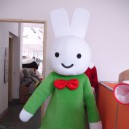 Supply Miffy Cartoon Clever Rabbit Costume Dress Animation Clothing Mascot Costume
