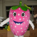 Supply Strawberry Doll Clothing Cartoon Clothing Clothing Walking Cartoon Costumes Strawberries Mascot Costume