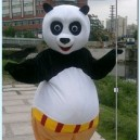 Cartoon Costumes Cartoon Cartoon Cartoon Dolls Advertising Clothing Performance Props Kung Fu Panda Mascot Costume