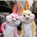 Supply Zodiac Rabbit Bugs Bunny Cartoon Doll Clothing Stage Performance Clothing Children Photography Props Mascot Costume