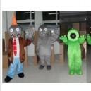 Zombies Cartoon Costumes For Adults Halloween Costume Doll Dolls Walking Children Mascot Costume