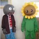 Supply Zombies Cartoon Dolls Walking Clothing Adult Child Halloween Costumes Mascot Costume
