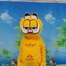 Supply Garfield Cartoon Dolls Walking Cartoon Doll Clothing Cartoon Costumes Cartoon Dolls Clothes Mascot Costume