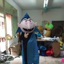 Supply Halloween Costume Cartoon Doll Clothing Advertising Clothing Cartoon Costumes Witch Mascot Costume