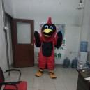 Supply Owl Cartoon Doll Clothing Cartoon Show Clothing Walking Cartoon Costumes Hairy Eagles Mascot Costume