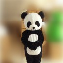 Supply Panda Cloth Doll Clothes People Wear Black and White Bear Cartoon Doll Cartoon Costumes Performance Clothing Mascot Costume