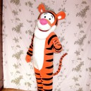 Winnie The Pooh Tigger Dolls Walking Cartoon Costumes Walking Clothing Road Mascot Costume