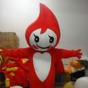 Supply Cartoon Costumes Cartoon Doll Clothing Plush Doll Clothes Aliwangwang Cartoon Props Mascot Costume