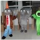 Cartoon Doll Clothing Cartoon Dolls Cartoon Clothing Props Zombies Zombies Mascot Costume