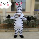 Supply Machaut Zebra Mascot Costume Cartoon Doll Cartoon Clothing Cartoon Costumes Outdoor Publicity