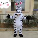 Machaut Zebra Mascot Costume Cartoon Doll Cartoon Clothing Cartoon Costumes Outdoor Publicity