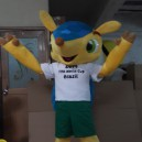 Supply Brazil Soccer World Cup 2015 Games Mascot Cartoon Doll Clothing Stage Performance Clothing Mascot Costume