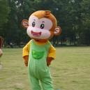Supply Monkey Cartoon Dolls Cartoon Clothing Cartoon Costumes Plush Dolls Walking Cartoon Monkey Mascot Costume