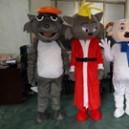Supply Pleasant Goat and Big Big Wolf Cartoon Clothing Frankie Dolls Walking Cartoon Dolls Doll Clothing Mascot Costume