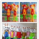Supply Sheep Sheep Sheep Mascot Doll Wigs Plush Cartoon Dolls Walking Clothing Fortune Mascot Costume