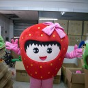 Supply Strawberry Cartoon Dolls Cartoon Clothing Performance Clothing Cartoon Characters Show Cartoon Doll Clothing Welcome Mascot Costume