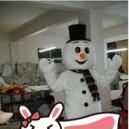Television Cartoon Snowman Cartoon Clothing Costumes Cartoon Costumes Snowman Christmas Promotions Doll Card Mascot Costume