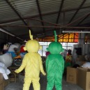 Animated Cartoon Teletubbies Doll Clothes People Wear Big Doll Clothing Walking Cartoon Props Mascot Costume