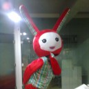 Cartoon Bunny Cartoon Walking Doll Clothing Doll Clothing Cartoon Show Clothing Mascot Costume