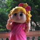 Supply Cartoon Costumes Walking Cartoon Dolls Cartoon Doll Dress Performance Props Plush Cartoon Princess Fifi Mascot Costume