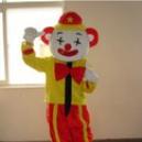 Cartoon Doll Clothing Cartoon Cartoon Clown Doll Dress Costumes Clown Props Mascot Costume