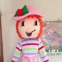 Supply Cartoon Doll Clothing Cartoon Dolls Cartoon Toy Animal Clothing Doll Clothing Strawberry Girl Mascot Costume