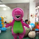 Cartoon Doll Clothing Red Dragon Barney Toy Dolls Walking Cartoon Clothing Apparel Show Mascot Costume