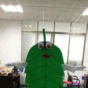 Supply Cartoon Walking Doll Clothing Props Green Leaves Adult Doll Clothes People Wear Clothing Mascot Costume