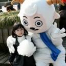 Pleasant Goat and Big Big Wolf Cartoon Doll Clothing Apparel Radiant Beauty Frankie Cartoon Dolls Mascot Costume