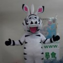 Supply Zebra Cartoon Costumes Cartoon Mascot Zodiac Wear Even Zebra Cartoon Doll Clothing Outdoor Publicity Mascot Costume