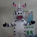 Supply Zebra Cartoon Costumes Cartoon Mascot Zodiac Wear Even Zebra Cartoon Doll Clothing Outdoor Publicity Mascot Costume