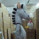 Cartoon Clothing Walking Cartoon Doll Clothing Props Costumes Props Zebra Mascot Costume
