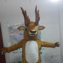 Supply Cartoon Costumes Cartoon Doll Clothing Cartoon Show Cartoon Animal Costume Props Cartoon Deer Mascot Costume