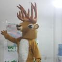 Cartoon Costumes Cartoon Doll Clothing Cartoon Show Cartoon Animal Costume Props Cartoon Deer Mascot Costume