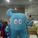 Supply Cartoon Costumes Walking Cartoon Doll Clothing Cartoon Show Clothing Performance Clothing Mounted Treasure Mascot Costume