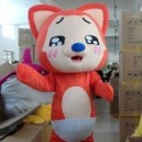 Cartoon Doll Clothing Cartoon Cartoon Props Tanuki Raccoon Dog Walking Cartoon Doll Clothing Performance Clothing Mascot Costume