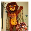 Supply Foreign Plates Lion Walking Cartoon Doll Clothing Doll Clothing Stage Performance Overseas Edition Lions Mascot Costume
