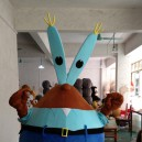 Supply Promotional Krabs Cartoon Clothing Cartoon Dolls Walking Crab Cartoon Dolls Doll Clothing Mascot Costume
