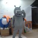 Hippo Cartoon Hippo Cartoon Clothing Cartoon Walking Doll Clothing Campaign Performance Props Mascot Costume