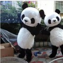 Supply Panda Costumes People Wear Cartoon Dolls Plush Doll Clothing Walk Advertising Mascot Costume