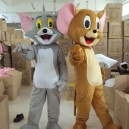 Supply Tom and Jerry Cartoon Cat Jerry Mouse Cartoon Doll Clothing Doll Clothing Doll Clothing Walking Props Mascot Costume