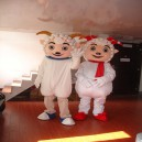Ball Radiant Ball Beautiful Sheep Walking Doll Cartoon Clothing Cartoon Dolls Doll Clothing Doll Costumes Mascot Costume