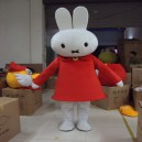 Supply Clever Rabbit Miffy Cartoon Doll Clothing Cartoon Walking Doll Clothing Cartoon Show Props Mascot Costume