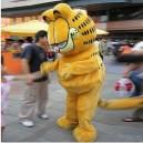 Supply Garfield Cartoon Clothing Walking Cartoon Doll Clothing Doll Clothing Doll Clothing Cartoon Costumes Mascot Costume