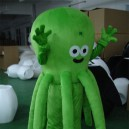 Supply Octopus Cartoon Costumes Walking Cartoon Doll Clothing Doll Clothing Doll Costumes Mascot Costume