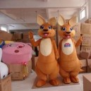 Supply Simeon Kangaroo Walking Cartoon Doll Clothing Doll Clothing Doll Clothing Doll Costumes Mascot Costume