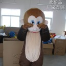 Supply Jumping Monkey Monkey Cartoon Dolls Walking Cartoon Doll Clothing Cartoon Clothing Cartoon Costumes Mascot Costume